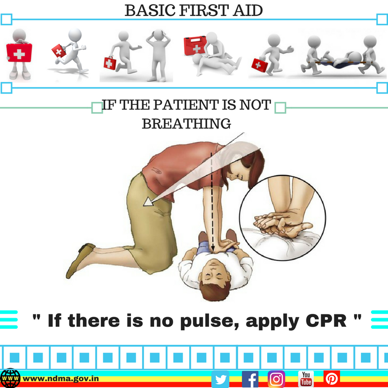 If there is no pulse, perform CPR