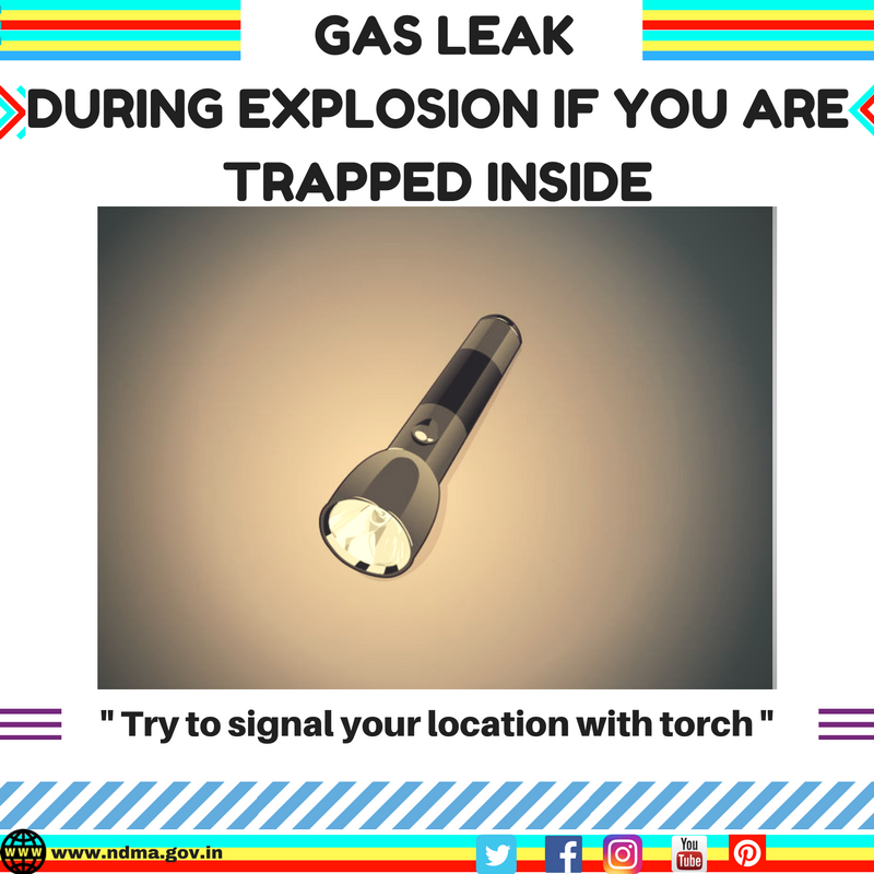 Try to signal your location with torch