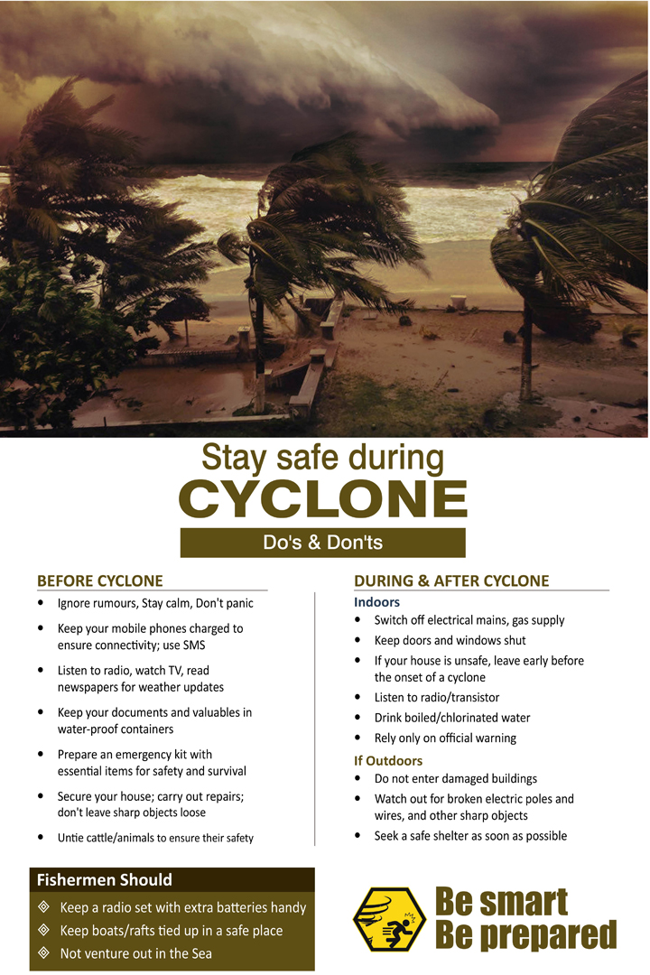 Do's and don'ts of cyclone